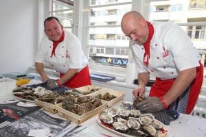 500 Austern im Foyer Ball der Gastronomie_Mitarbeiter Selgros_s