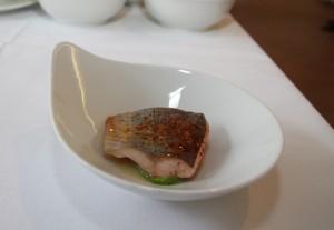 Saibling_Lardo_Dill-Vorspeise Philipp Liebisch_Foyer Ball der Gastronomie_s