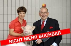 Eva Gritzmann & Denis Scheck im Cookies Cream