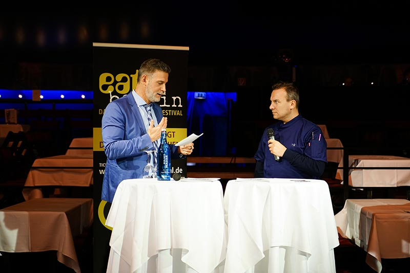 eat berlin 2018 PK Sven Oswald & Tim Raue