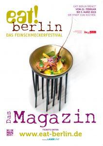 eat! berlin Magazin Titel 2019