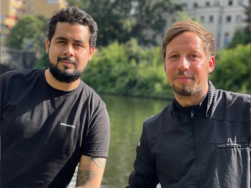 Francisco Hernandez und Thorsten Einicke