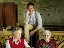 Oma, Österreich und junge Wilde