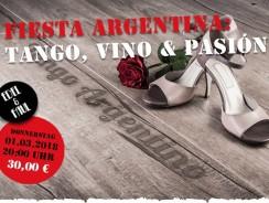 Fiesta Argentina: Tango, Vino & Pasión