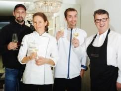 3 Sterne, 8 Kochmützen und eine Pinzgauerin