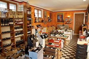 Weinhandlung Hardy Innenansicht